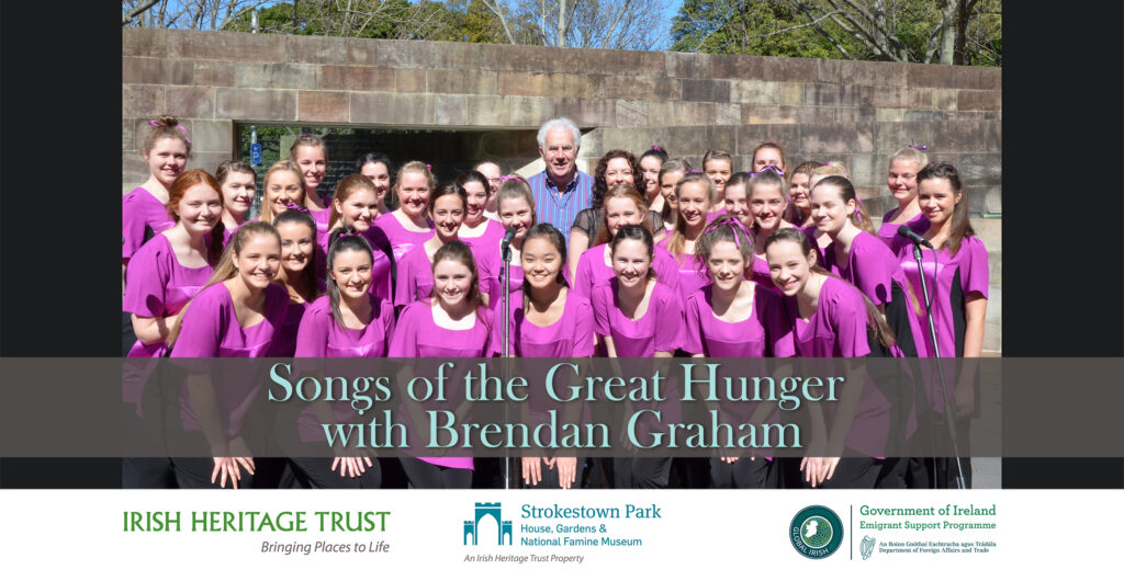 Songs of the Great Hunger released for National Famine Commemoration Day